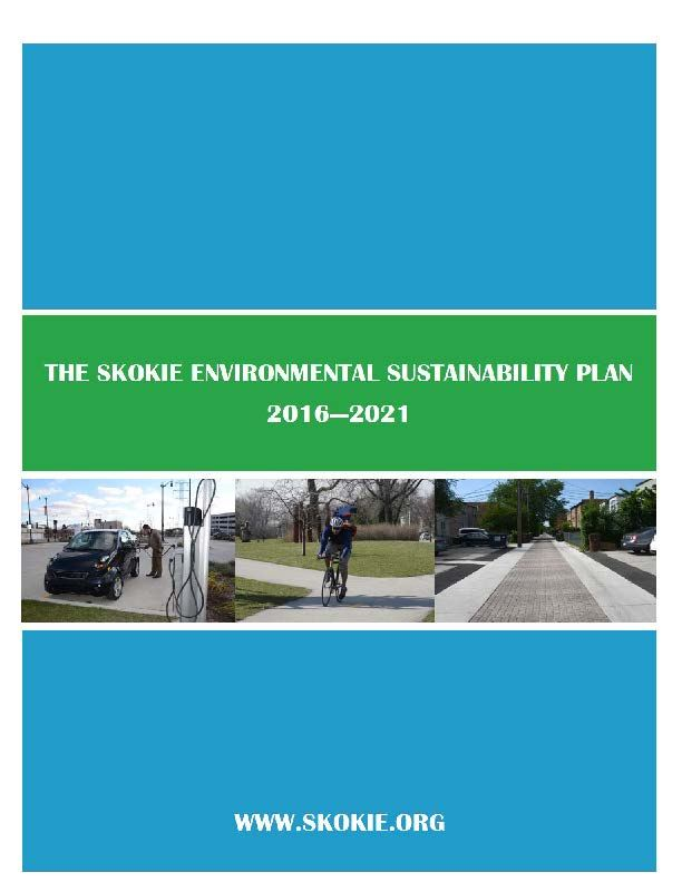 Environmental Sustainability Plan 2017 Cover