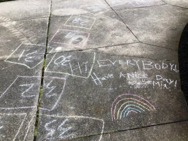 Skokie Spirit Mias chalk drawing (JPG)