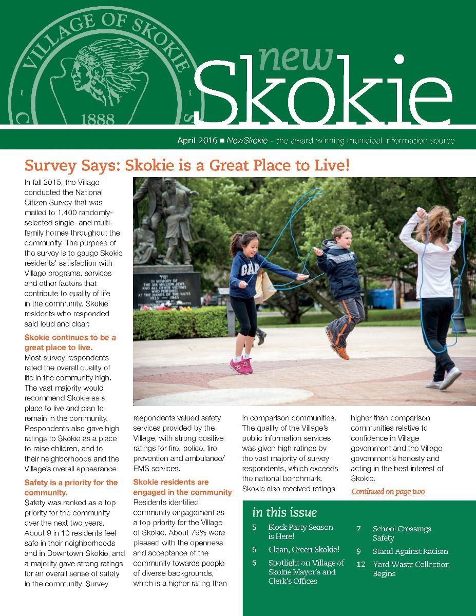 NewSkokie Newsletter