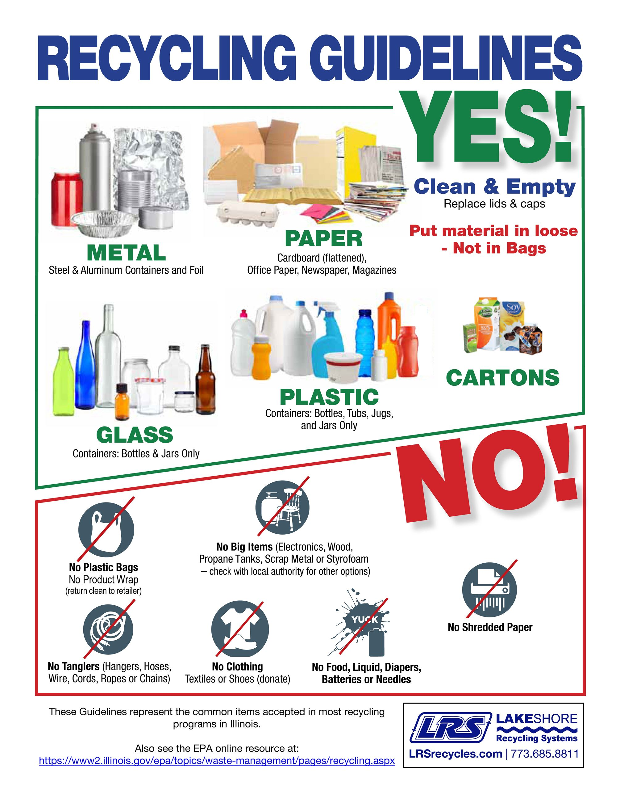 Recycling Guidelines October 2019