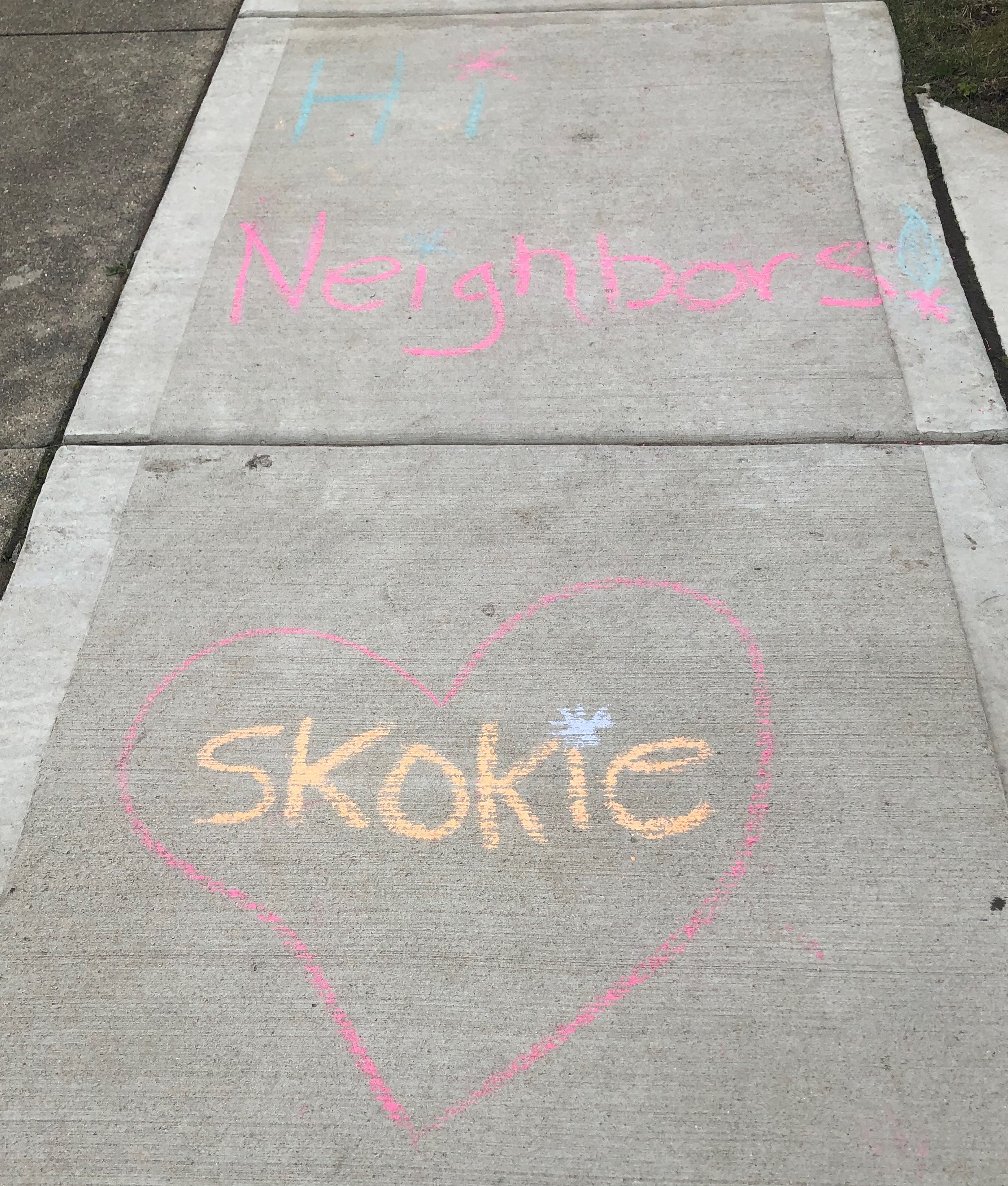 Skokie Spirit Chalk Drawing 1 March 26 (JPG)